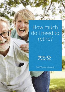 How much do I need to retire guide - free PDF front Page