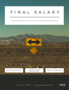 The Definitive Guide to Final Salary Pension Transfer front page