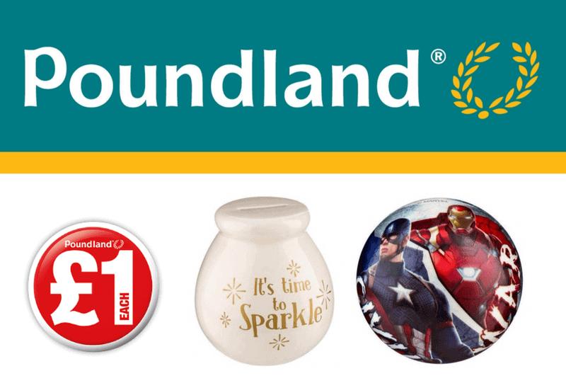 Poundland Christmas Savings