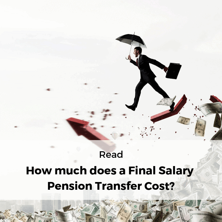 How much does a final salary pension transfer cost