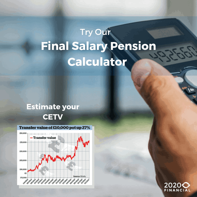 Final Salary Pension Calculator