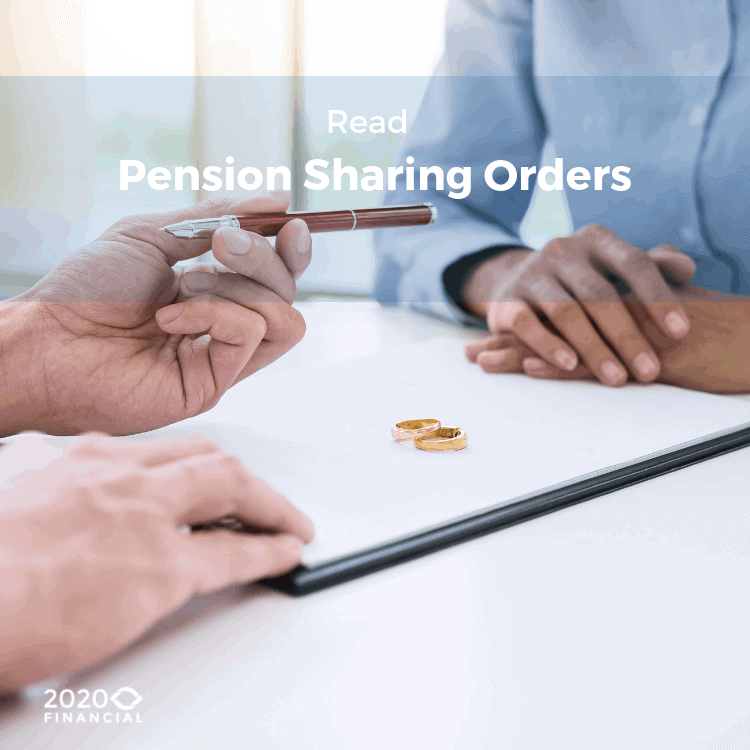 pension sharing orders blog link