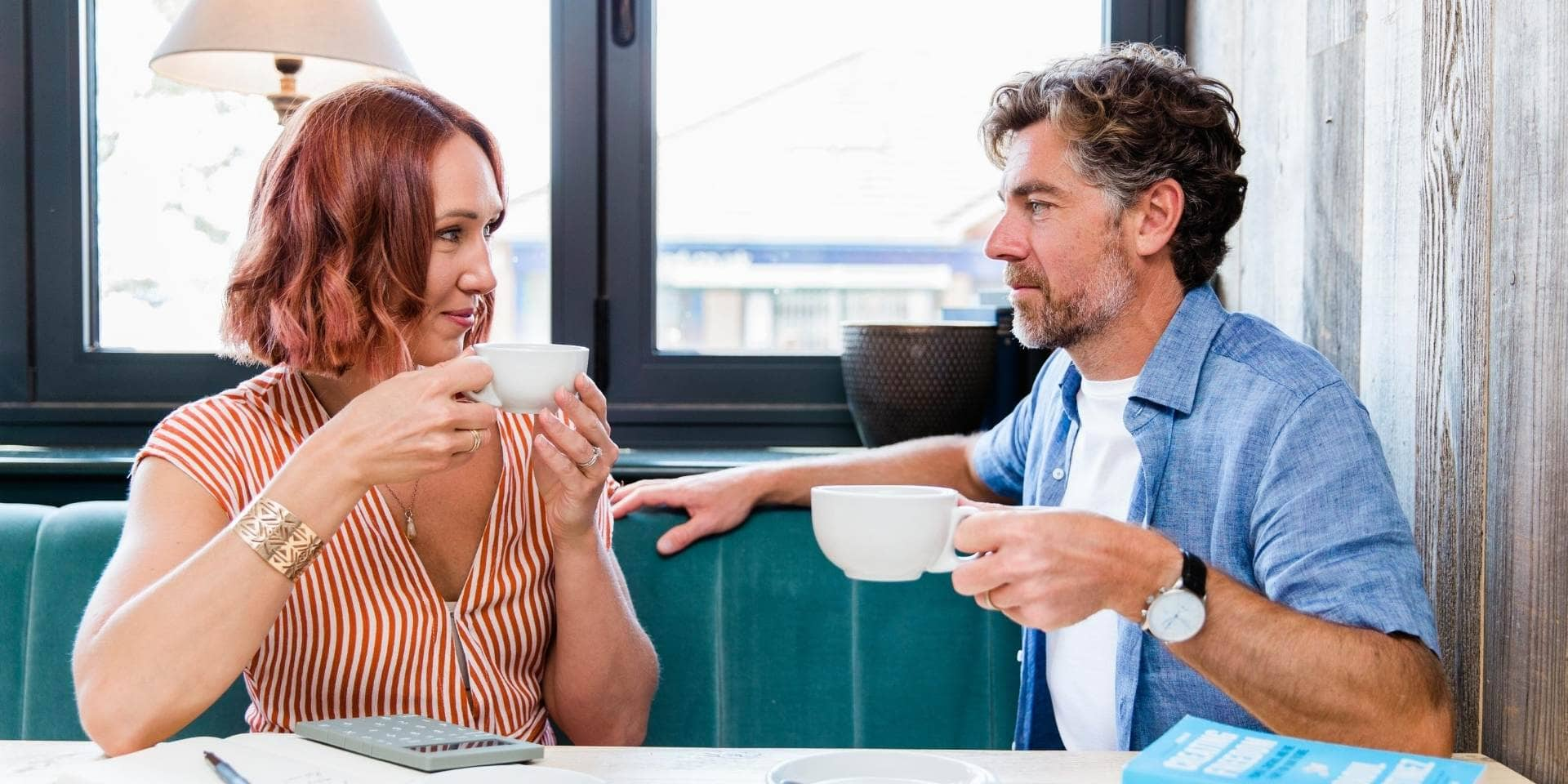 How much does a married couple need to retire -Married couple discussing retirement plans
