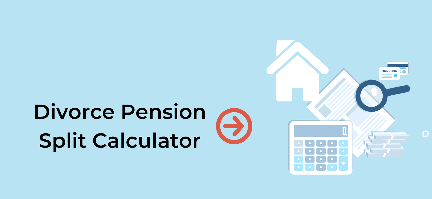 Divorce Pension Split Calculator