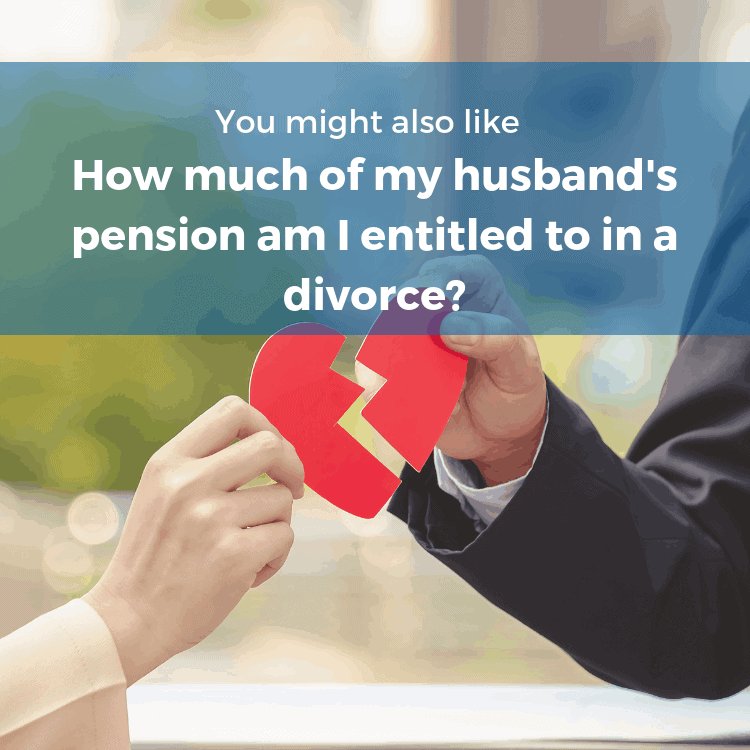 How much of my husbands pension am I entitled to in a divorce-blog link