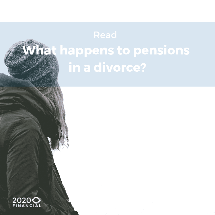 What happens to a pension in divorce- blog link