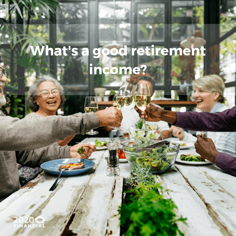 Whats a good pension income