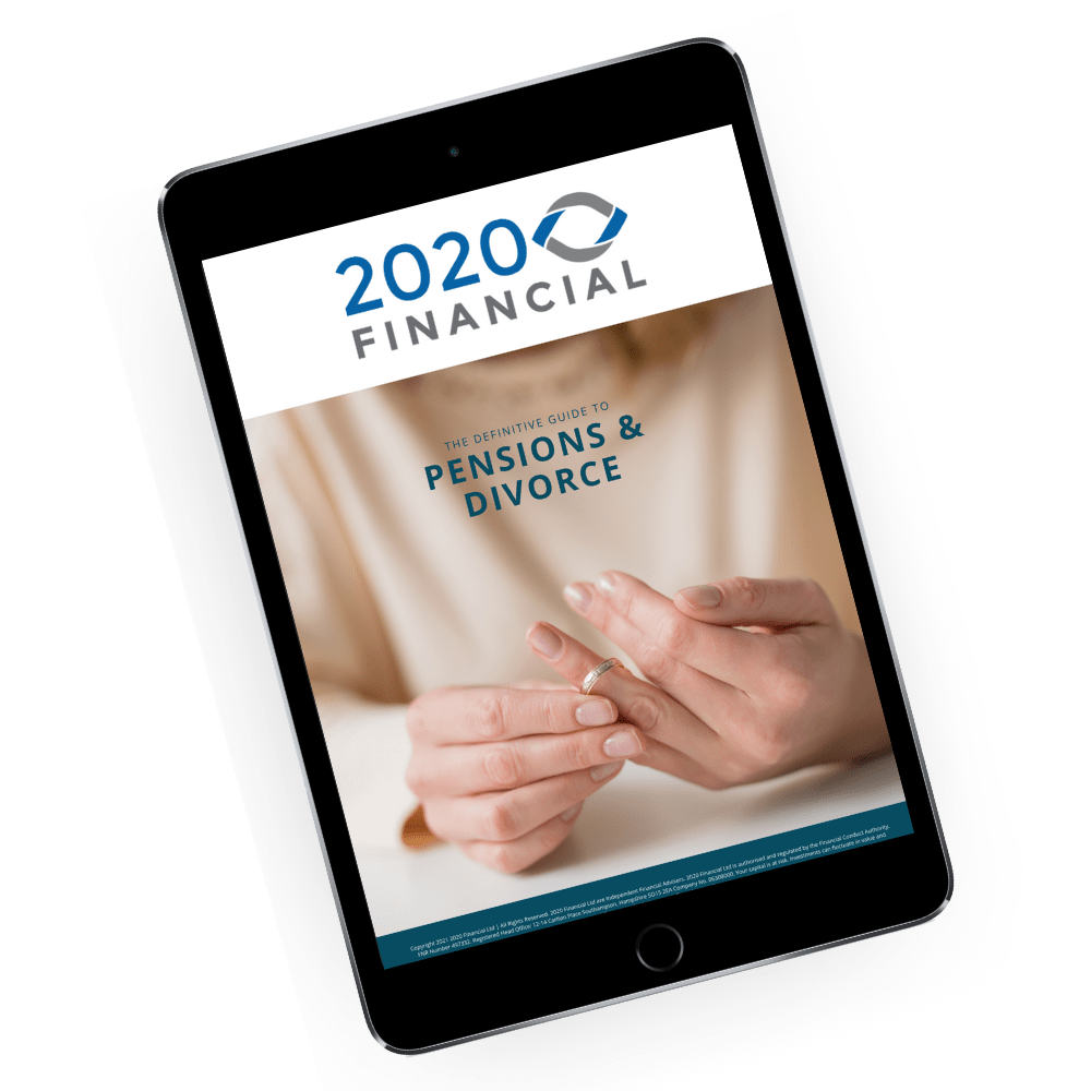 Pensions and divorce guide_2020 Financial